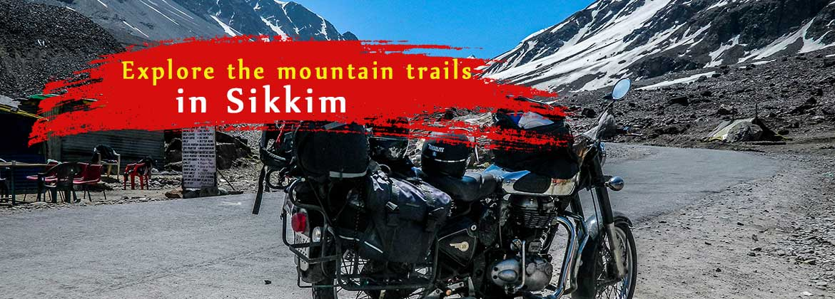 Explore mountains trails in sikkim